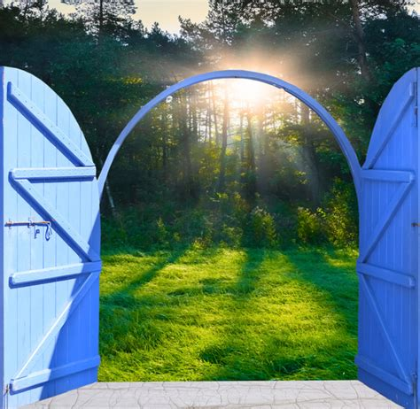 Open Door Backgrounds Stock Photo 03 Free Download