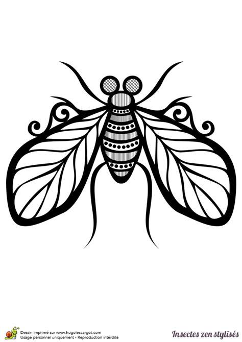 jeux de cuisine de high dessin à colorier d 39 une mouche stylisée hugolescargot com