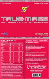 True Mass Chocolate 2 6kg