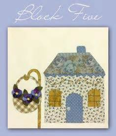 shabby fabrics country cottages free patterns block 8 country cottage shabby fabrics free patterns applique pinterest patterns bonito
