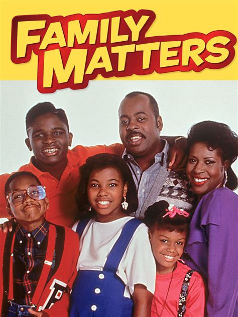 Family Matters Tv Show News Videos Full Episodes And