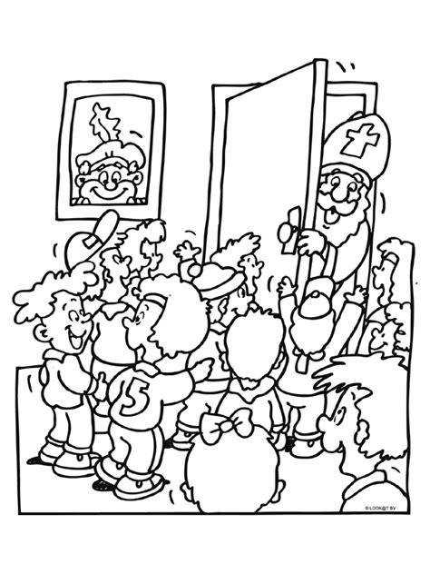 Www School Kleurplaten Nl by Kleurplaat Sinterklaas In De Klas Kleurplaten Nl