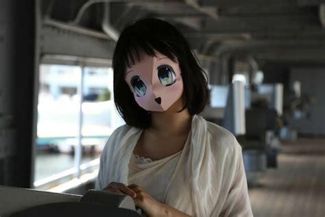 Cute, Maybe Creepy Anime Masks Invade The