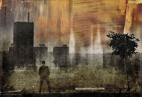 cityscape shadows wall paper mural buy  ukposters