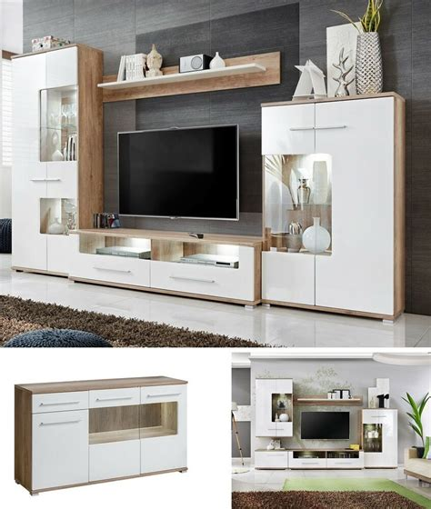 Tv Wall Cupboard by Living Room Furniture Set Tv Unit Stand Cabinet Wall