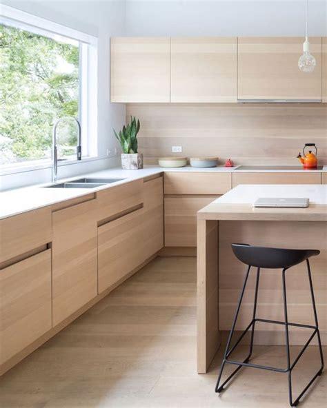 light wood kitchen cabinets modern 15 trendy looking modern wood kitchens shelterness
