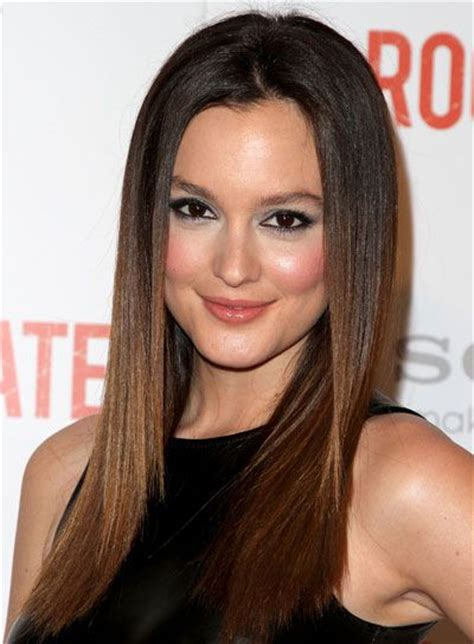 15 elegant sleek straight hairstyles for women long