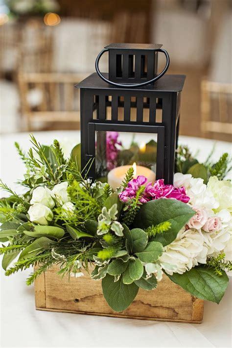 Bright Idea Lantern Floral Arrangements Centerpiece
