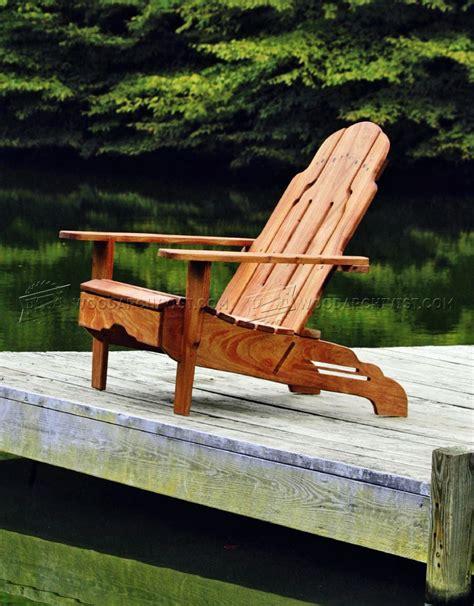 Build Adirondack Chair • Woodarchivist