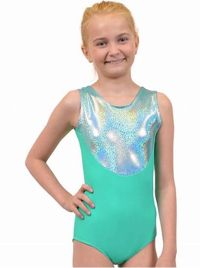 Gymnastics Leotard Metallic Neon Walmart Nylon Stretch
