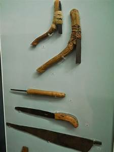 Ancient Egyptian wood carving and stone carving tools