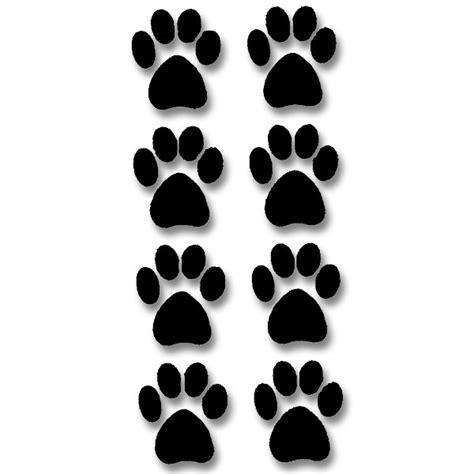 cat foot print   clip art  clip art