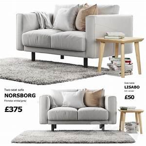 Ikea Sofa Norsborg : 3d models sofa sofa ikea norsborg 1 ~ Frokenaadalensverden.com Haus und Dekorationen