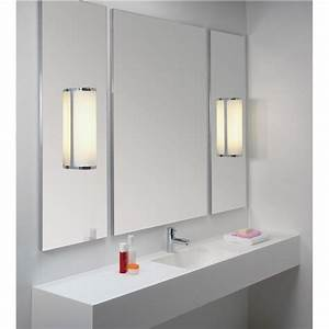 Spiegelleuchte Bad Led : bad spiegelleuchte f r led geriffeltes glas matt monza classic ~ Buech-reservation.com Haus und Dekorationen
