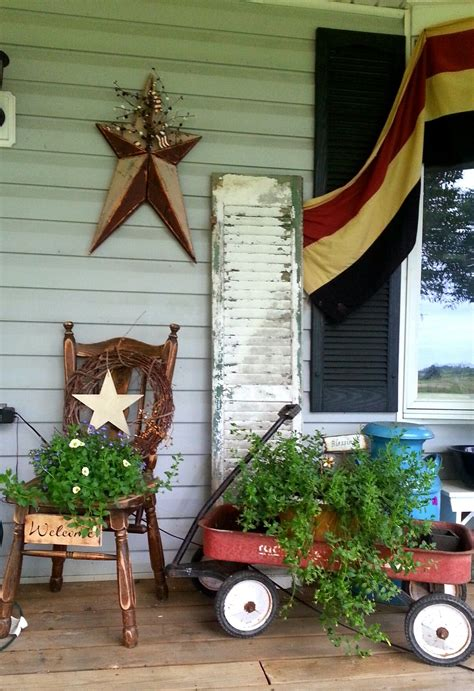 Little Red White Blue The Front Porch Fun