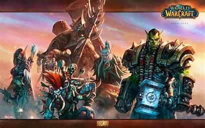 Horde Alliance Warcraft 4k Monitor