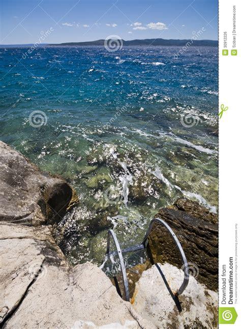 Beach Ladder Royalty Free Stock Image Image 30912226
