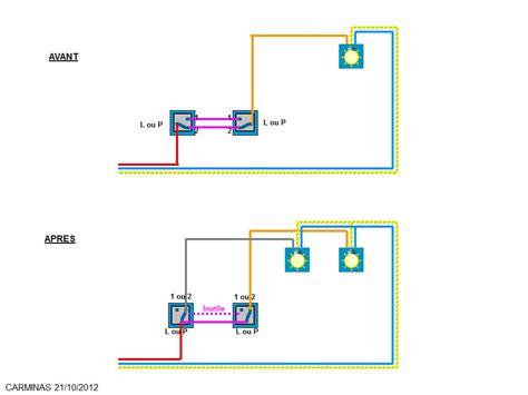 transformer branchement electrique systeme va  vient