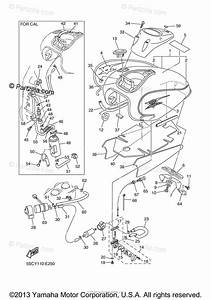 Yamaha Motorcycle 2006 Oem Parts Diagram For Fuel Tank