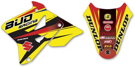 moto shop racing kit d 233 co complet bud racing rm 85 02 16
