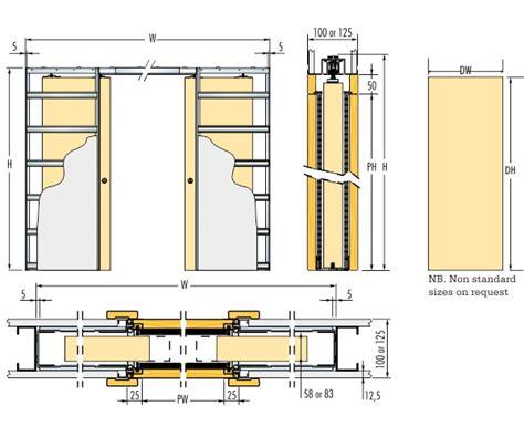 125mm Wall Thickness Double Pocket Door Pocket Doors Kit. Lowes New Hartford Ny. Blue Oriental Rug. Bathroom Shower. Marble Countertops