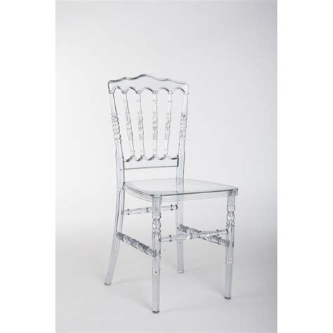 chaise napoleon transparente chaise napoléon iii transparente dégressif selon quantité