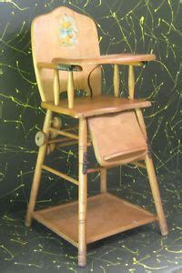 high chair converts to desk on wheels combination vintage