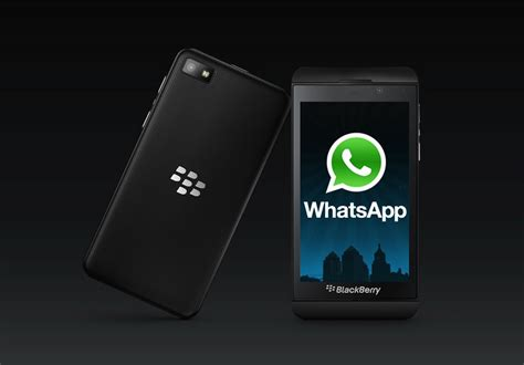 version of whatsapp for blackberry phones