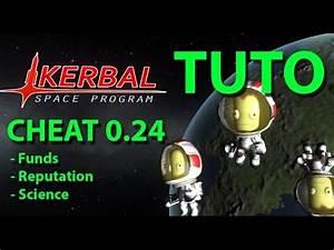 TUTO KSP 0.24 : #1 CHEATER -TRICHER [FR] - YouTube