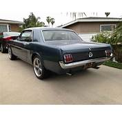 1964 1/2 65 Ford Mustang V8 289 4bbl D Code Coupe