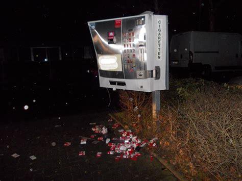 wie funktioniert ein zigarettenautomat diesmal in l 252 tzel wieder zigarettenautomat gesprengt rhein zeitung koblenz rhein zeitung