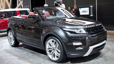 range rover evoque cabrio   ready