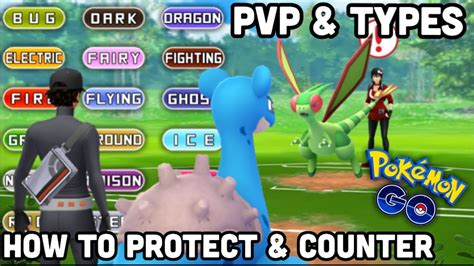 How To Counter Different Types In Pvp For Pokemon Go