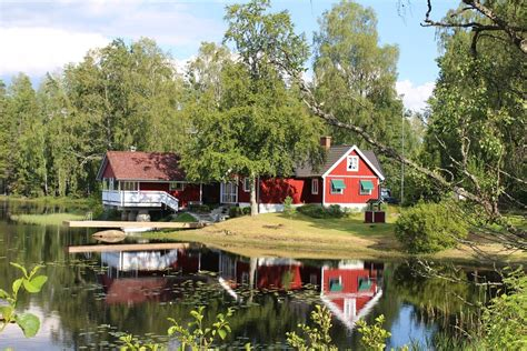Haus See Schweden · Kostenloses Foto Auf Pixabay