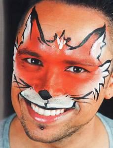 Karneval Gesicht Schminken : kinderschminken fuchs schminken schminken anleitung tipps motive vorlagen ~ Frokenaadalensverden.com Haus und Dekorationen