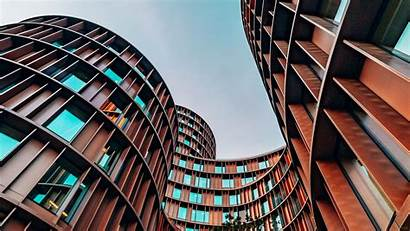 Architecture Building Facade 1080p Shape Background Winding