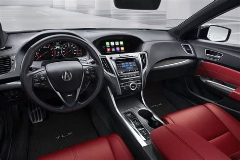 Acura Of Boston by Adriano Sold Me The A Spec Tlx Interior In