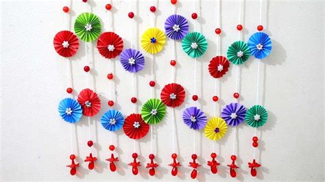paper wall hanging ideas paper craft ideas  room wall