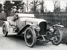 1919 Bentley EXP1 WO Bentley drives EXP1 the first