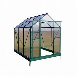 Alu gewachshaus treibhaus gartenhaus pflanzenhaus garten for Garten planen mit balkon treibhaus