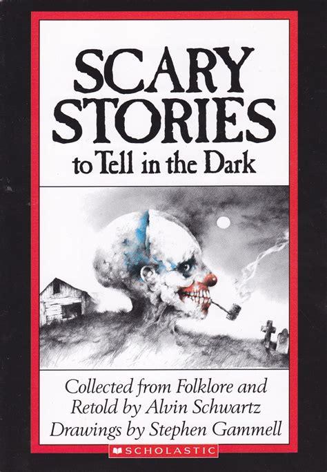 full scary stories     dark cover