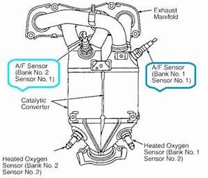 Toyota Rav4 2 0vvti 1azfe Lambda Sensors Precat Bank 1