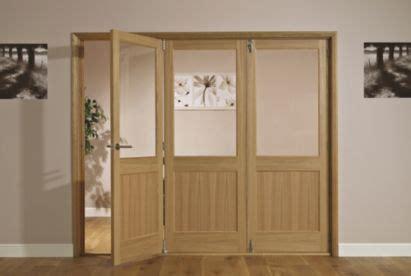 Living Room Doors At B Q by B Q Fontburn Glazed Right Folding Interior Tri Fold