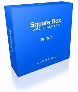 Square Box Mockup | Cover Actions Premium | Mockup PSD ...