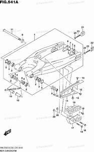 Suzuki Motorcycle 2019 Oem Parts Diagram For Rear