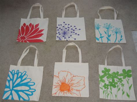 Diy Bridesmaids Tote Bags / Hand Painted For My Lovely