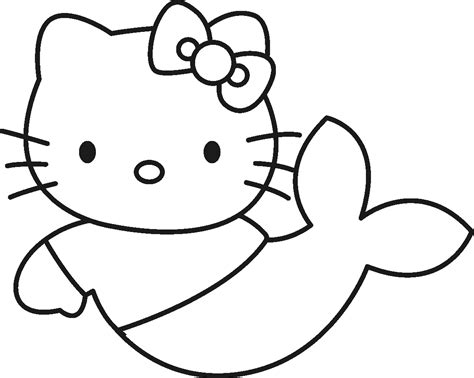 Hello Kitty For Coloring, Part 2