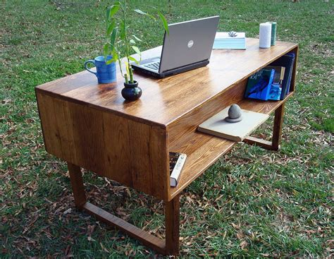 wooden office desk 33 stunning reclaimed wood desks