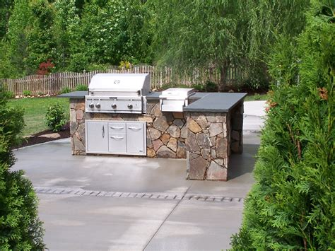 backyard grill south outdoor kitchen we build decks sunrooms screened