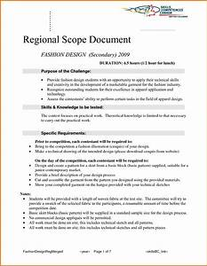 sample scope document template - 8 scope of work documentreference letters words